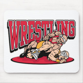 Wrestling Takedown Mouse Pads