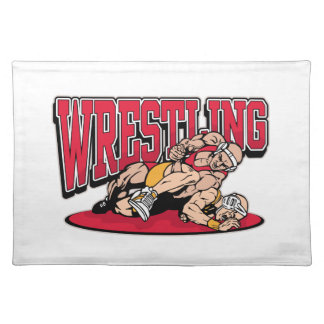 Wrestling Takedown Placemat