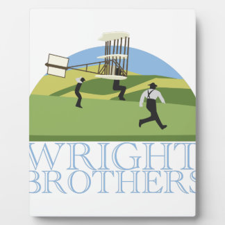 Wright Brothers Display Plaque