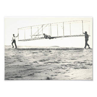 Wright Brothers' Glider Tests Photo Art