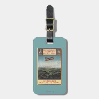 Wright Brothers Plane Luggage Tag