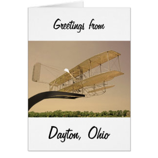 Wright Flyer Aircraft Card