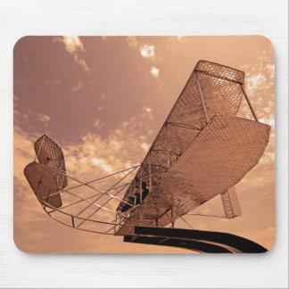 Wright Flyer Aircraft Mouse Mat