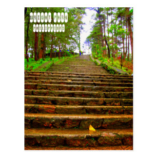 Wright Park of Baguio Postcard