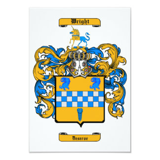 Wright (Scotland) Card