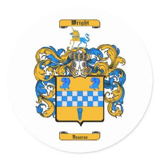 Wright (Scotland) Classic Round Sticker
