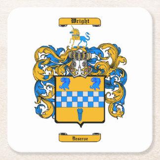 Wright (Scotland) Square Paper Coaster