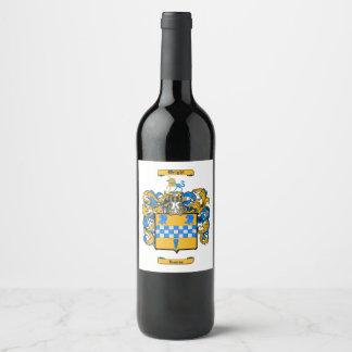 Wright (Scotland) Wine Label