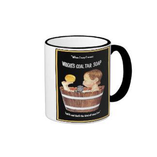 Wright's Coal Tar Soap Ringer Mug