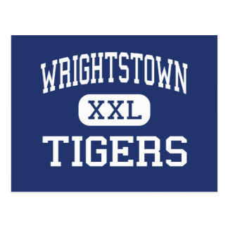 Wrightstown - Tigers - High - Wrightstown Postcard