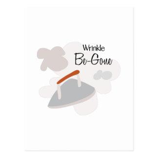 Wrinkle Be Gone Postcard