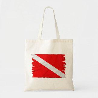 Wrinkled Diver Down Flag Bag