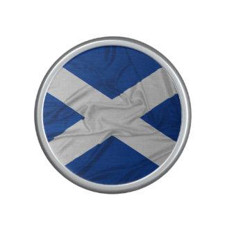 Wrinkled Scotland Flag Bluetooth Speaker