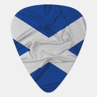 Wrinkled Scotland Flag Guitar Pick