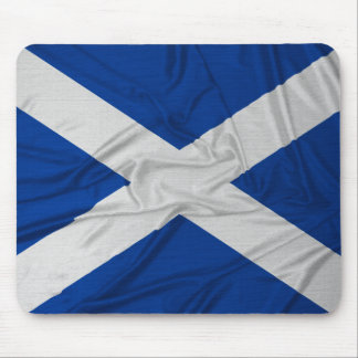 Wrinkled Scotland Flag Mouse Mat