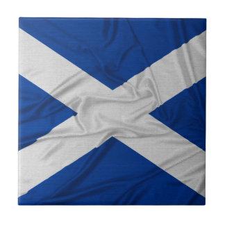 Wrinkled Scotland Flag Tile