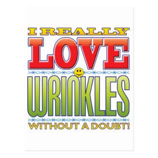 Wrinkles Love Face Postcards