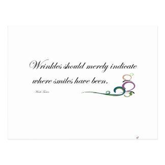 Wrinkles Post Card