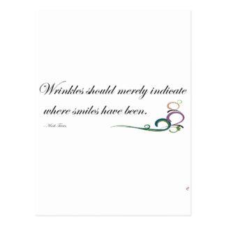 Wrinkles Postcards