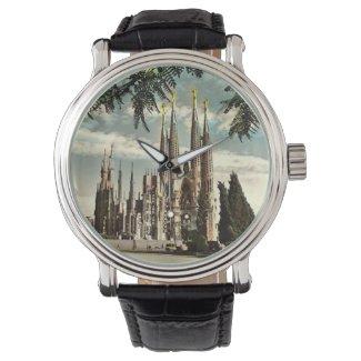 Wrist Watch - Barcelona - Sagrada Familia