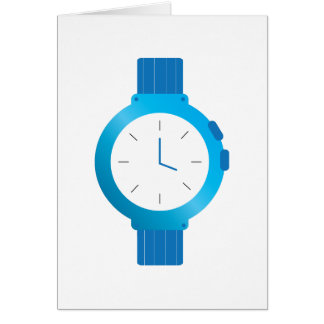 Wrist Watch Card