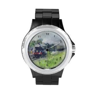 Wrist watch - 'King George V' Locomotive