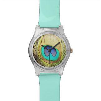 Wrist Watch Peacock Design.