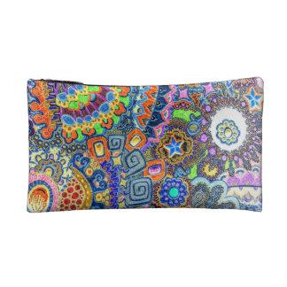 """Wristlet in psychedelic """"Sam's pic"""" design"""