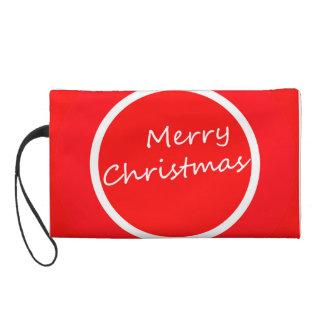 Wristlet (Merry Christmas Design)