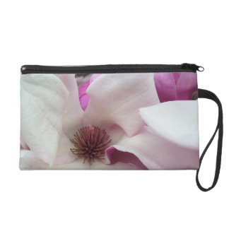Wristlet - Mini-Purse - Saucer Magnolia Bloom