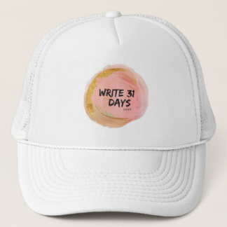 write 31 days hat
