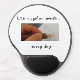 Write Every Day Gel Mousepad