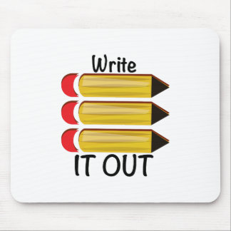 Write It Out Mousepads