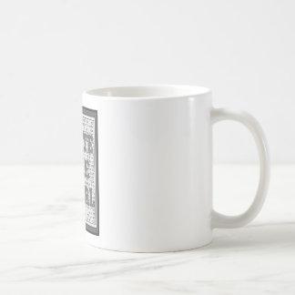 Write Like a Girl Gray Coffee Mug
