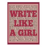 Write Like a Girl Lipstick