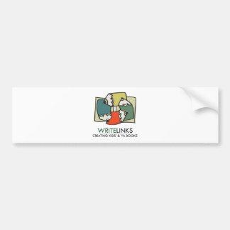 Write Links Logo Bumper Sticker