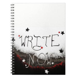 """""""Write Now"""" Light Sky Notebook"""