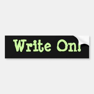 Write On! Buber Sticker Bumper Sticker