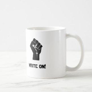 """Write On!"" Coffee Mug"