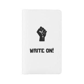"""""""Write On!"""" Large Moleskine Notebook"""