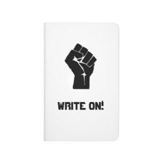 """Write On!"" Pocket Journal"
