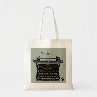 Write on - Retro Typewriter Bag