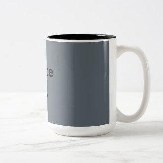 Write On Typewriter Two-Tone Coffee Mug