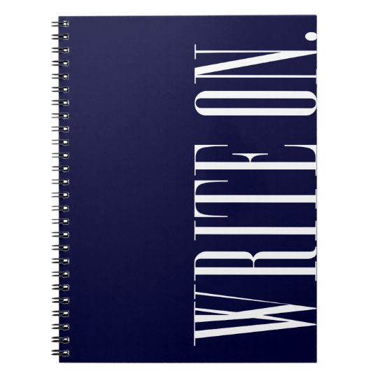 Write On (Ver 1) Notebooks