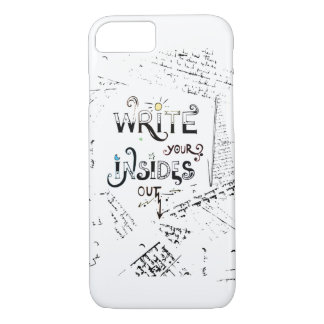 Write your Insides OUT! iPhone 7 Case