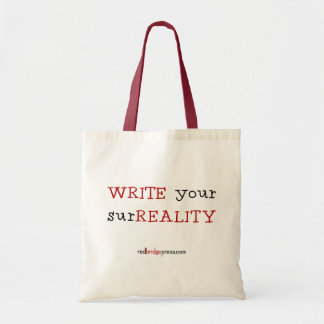 WRITE your surREALITY - tote bag
