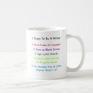 Writer 5-Steps Mug