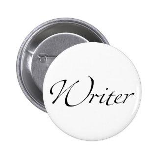 Writer. 6 Cm Round Badge