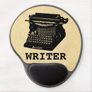 Writer Antique Typewriter Gel Mouse Pad