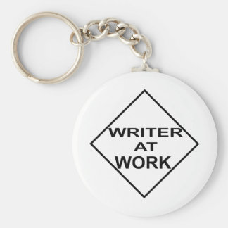 Writer at Work - Gift for Writers Keychains
